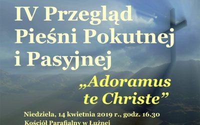 W Łużnej odbyła się czwarta edycja Przeglądu Pieśni Pokutnej i Pasyjnej
